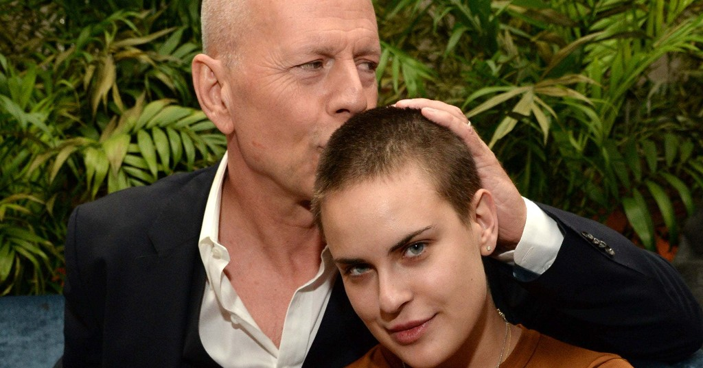 Bruce Willis Shaved His Daughter's Head In Quarantine — It's Stunning