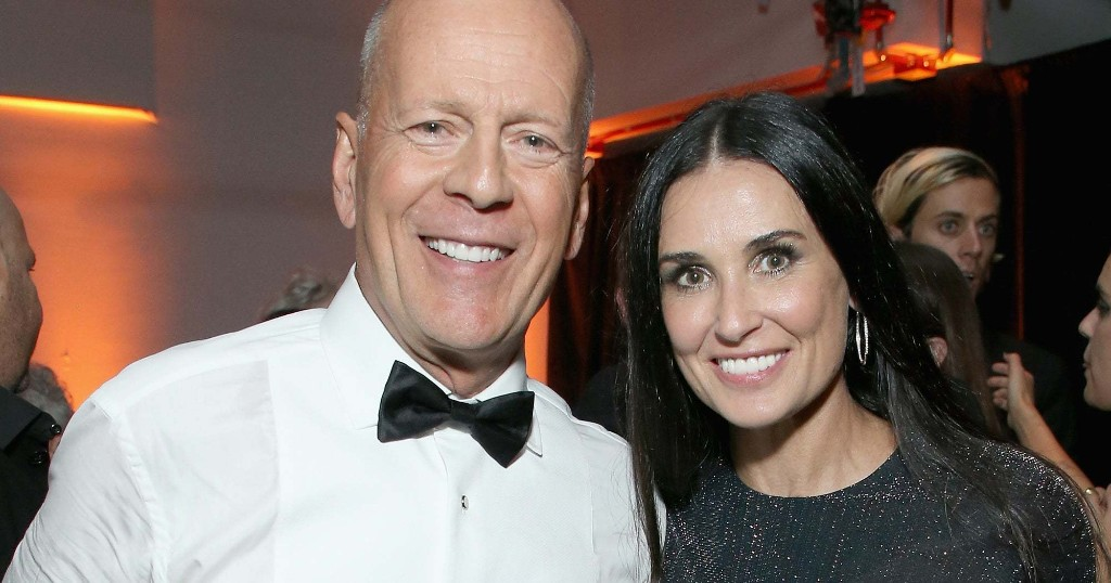 This Is How You Ex: Demi Moore Bruce Willis Are Having An Unconventional Quarantine