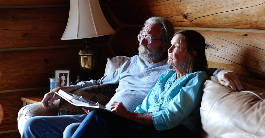 Meet the wilderness couple who are masters of social distance