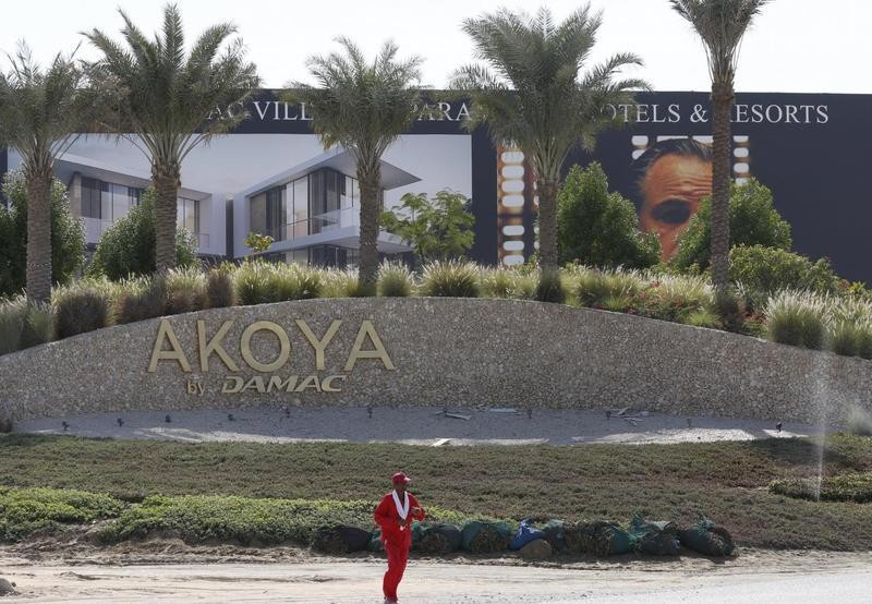 Trump's Dubai real estate partner strips his image, name from luxury golf project site