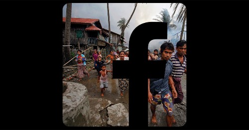 Why Facebook is losing the war on hate speech in Myanmar