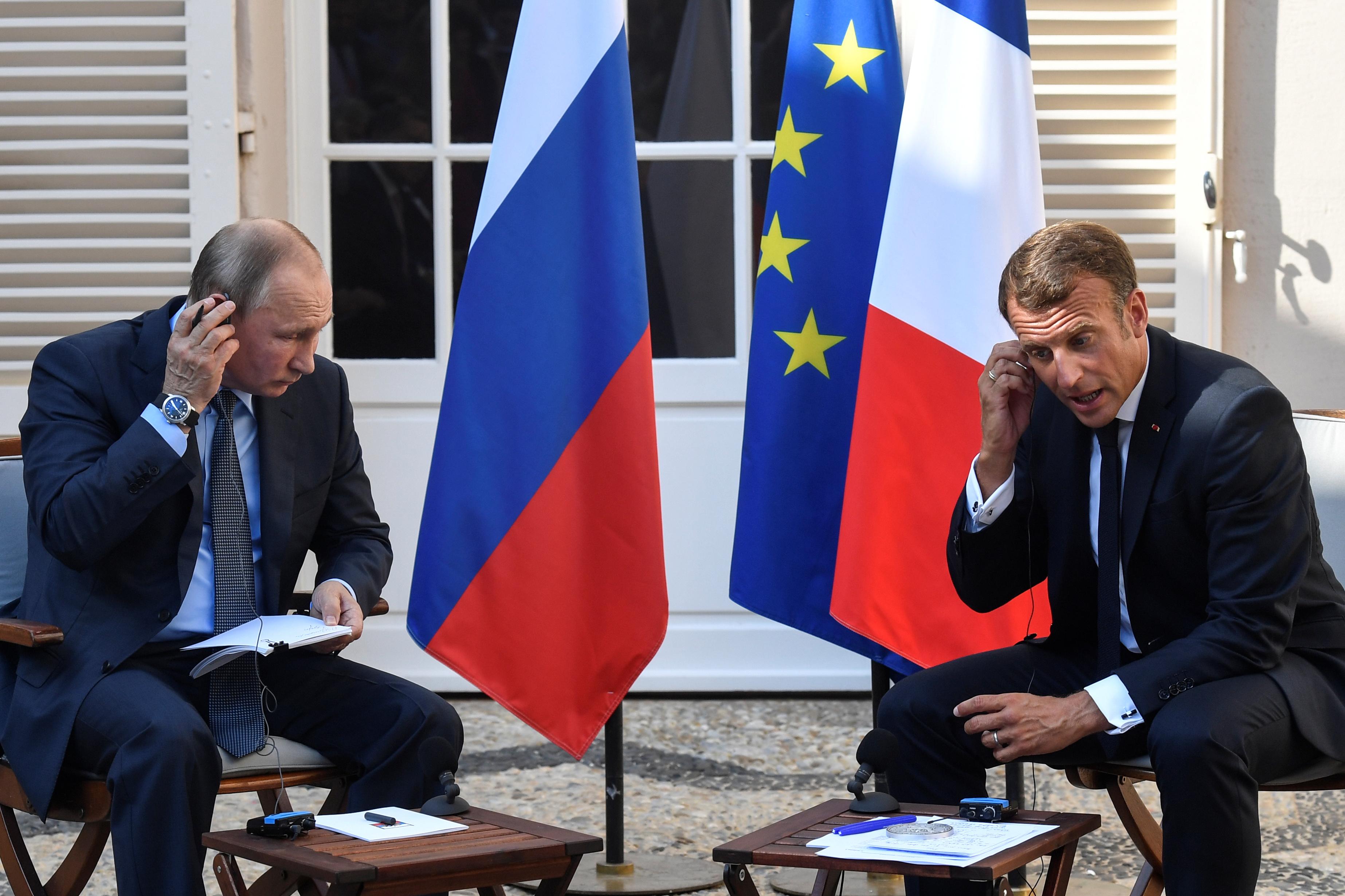 "Ukraine: Macron souhaite un sommet ""Normandie"" prochainement"