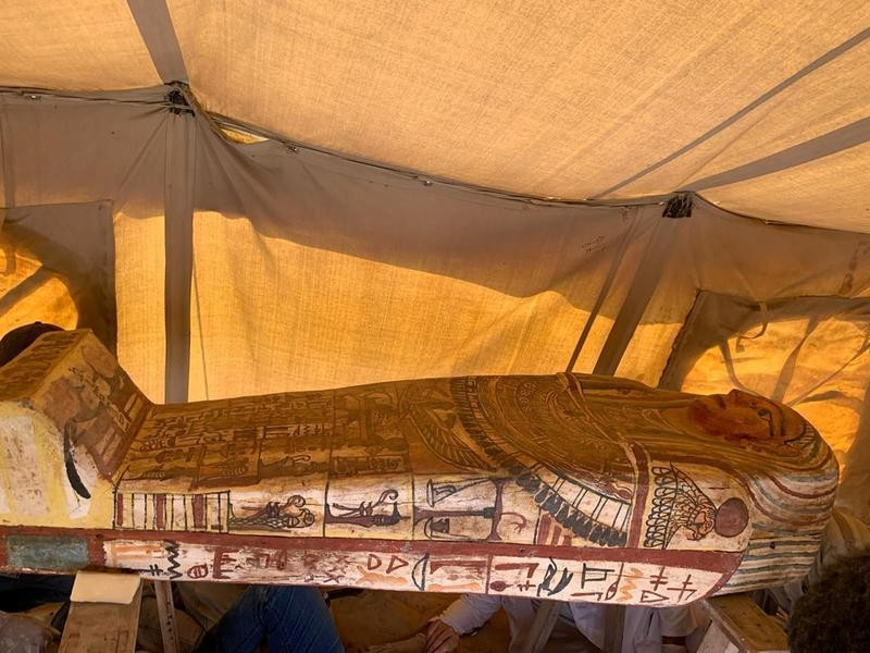 Egypt discovers 27 sarcophagi more than 2,500 years old