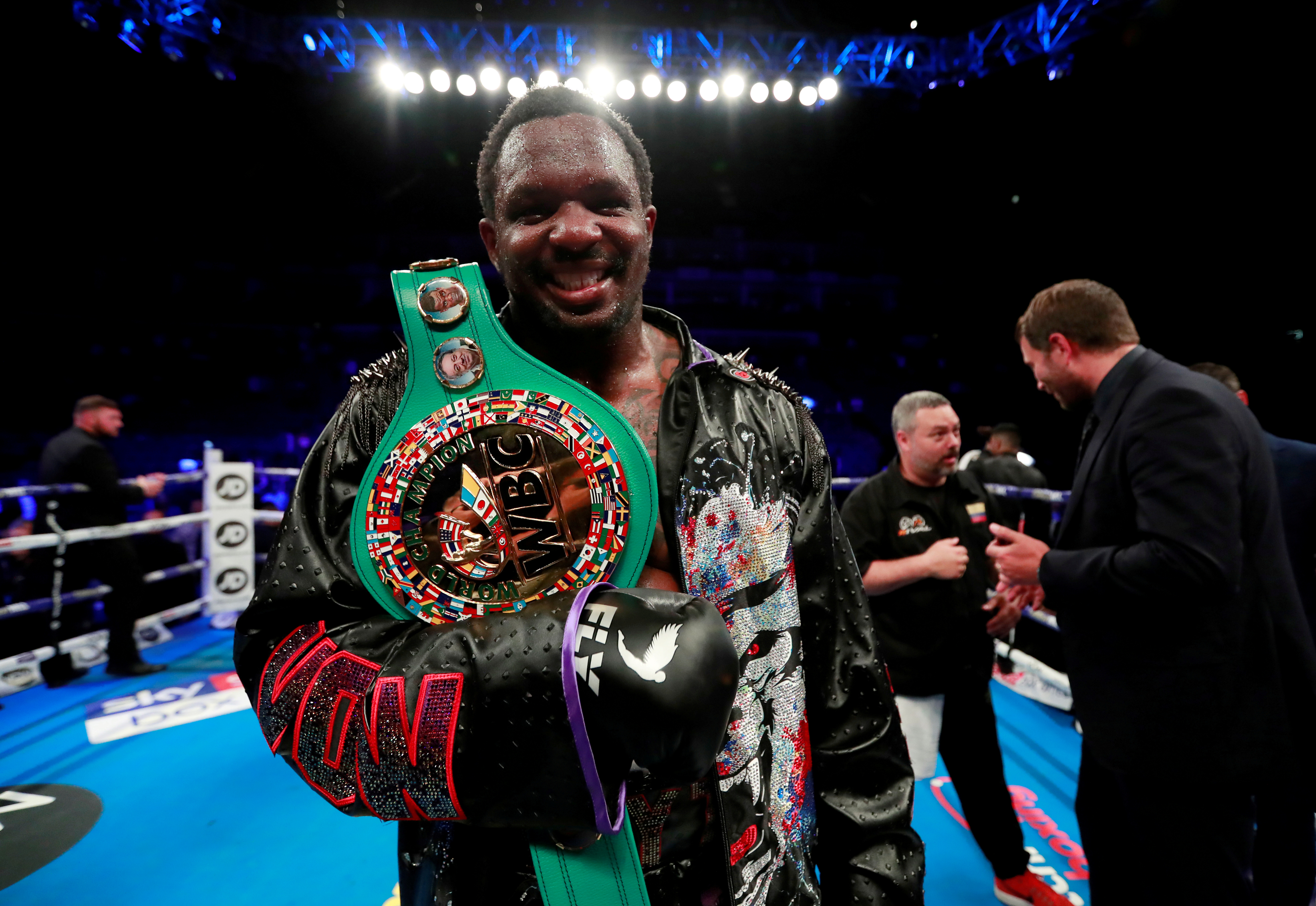Boxing: Britain's Whyte cleared of wrongdoing by UK Anti-Doping