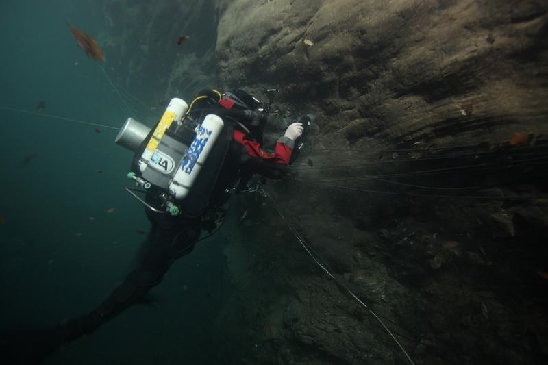 Czech divers search for new depths in world's deepest cave