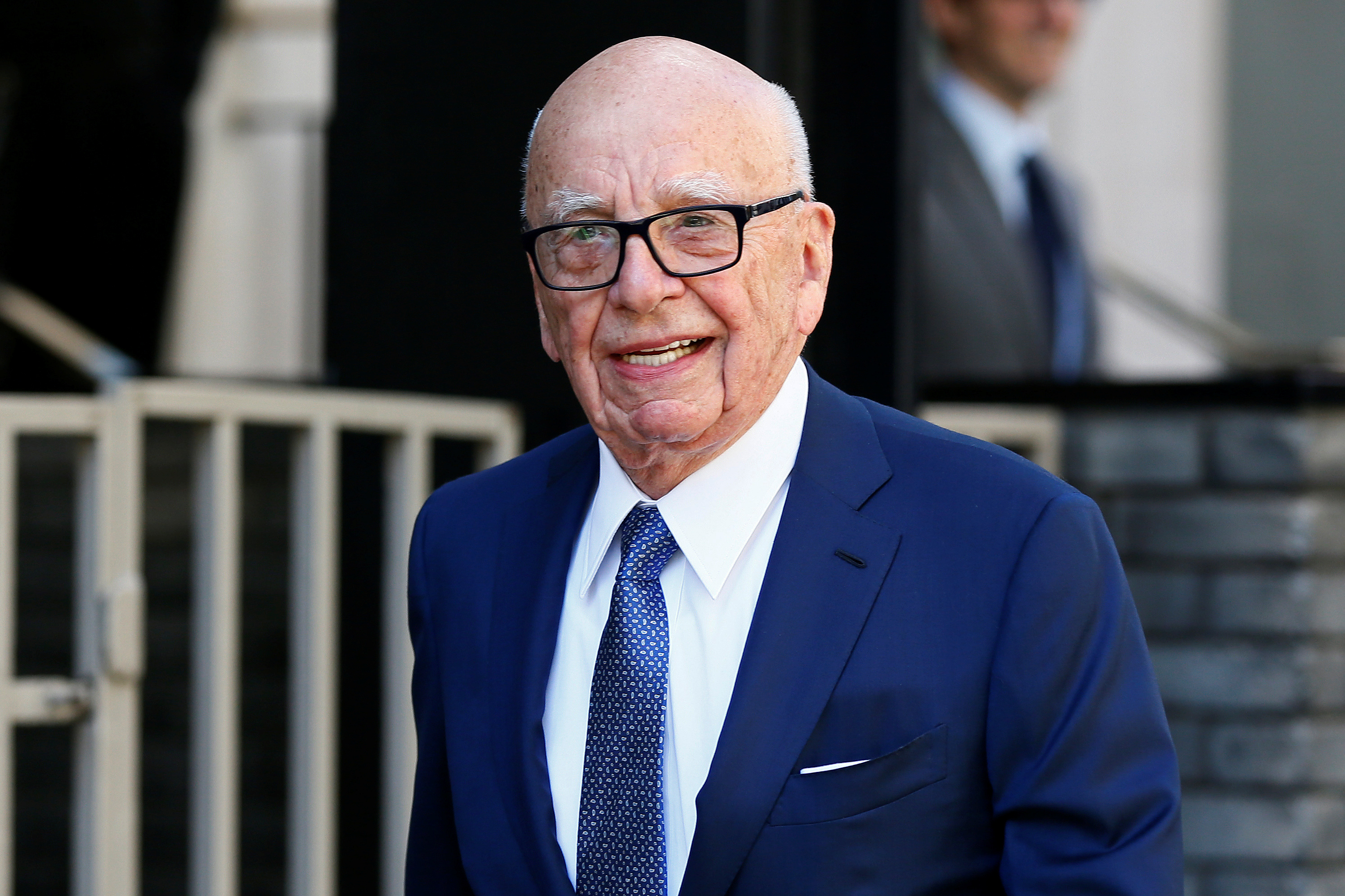 Murdoch seeks permission to merge UK's Times and Sunday Times