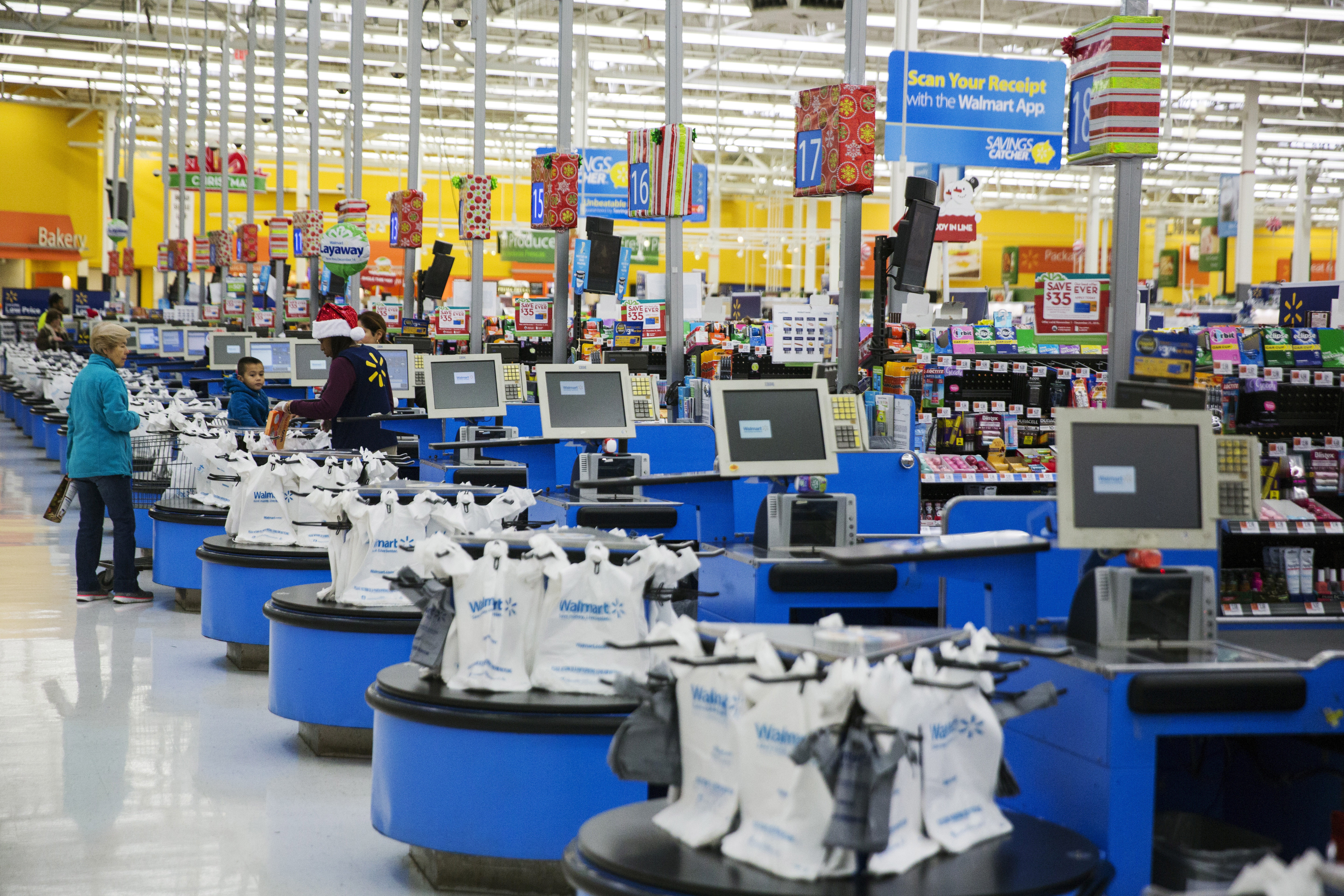 Walmart testing higher minimum wage for some employees