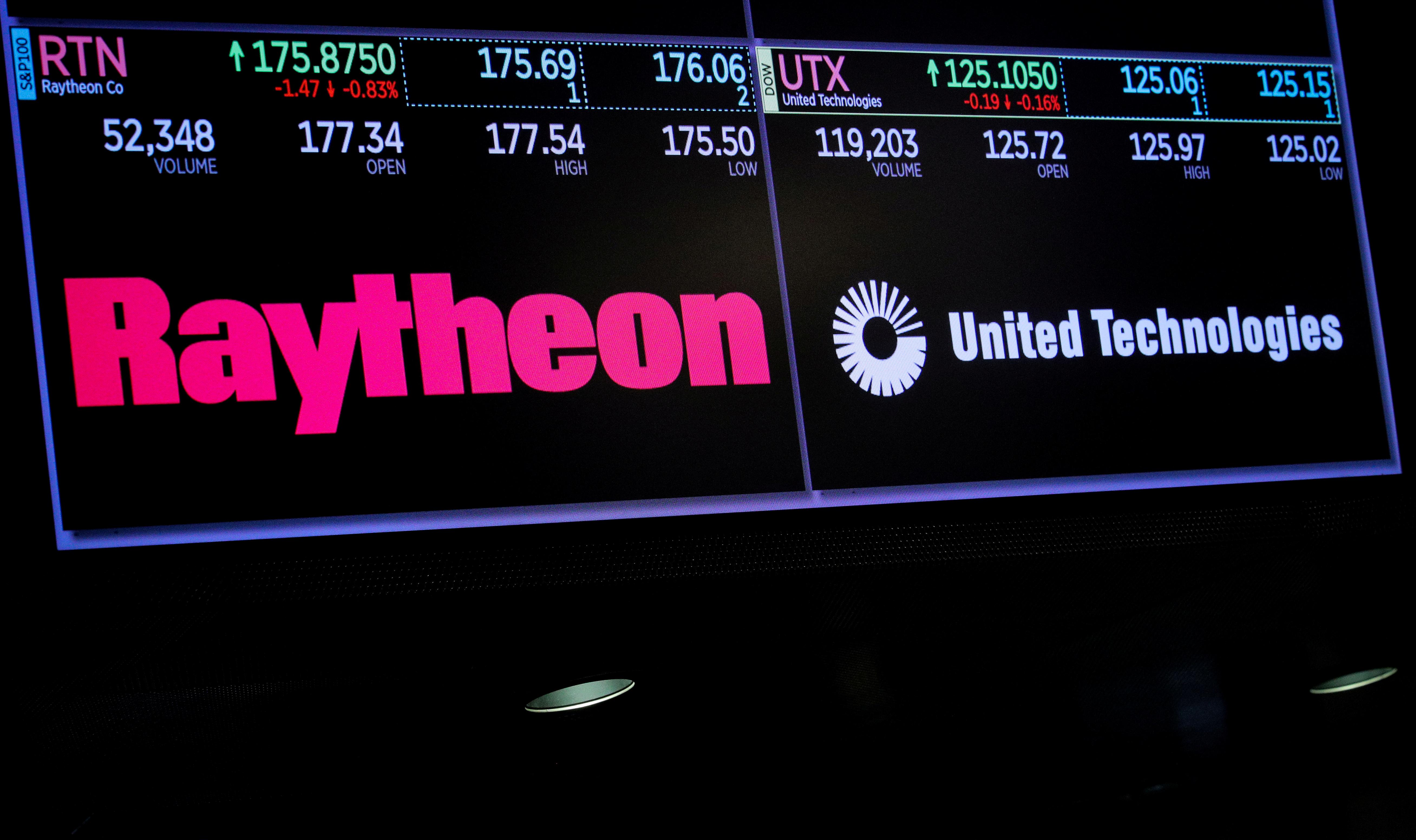 United Technologies, Raytheon offer EU concessions over $120 billion merger deal