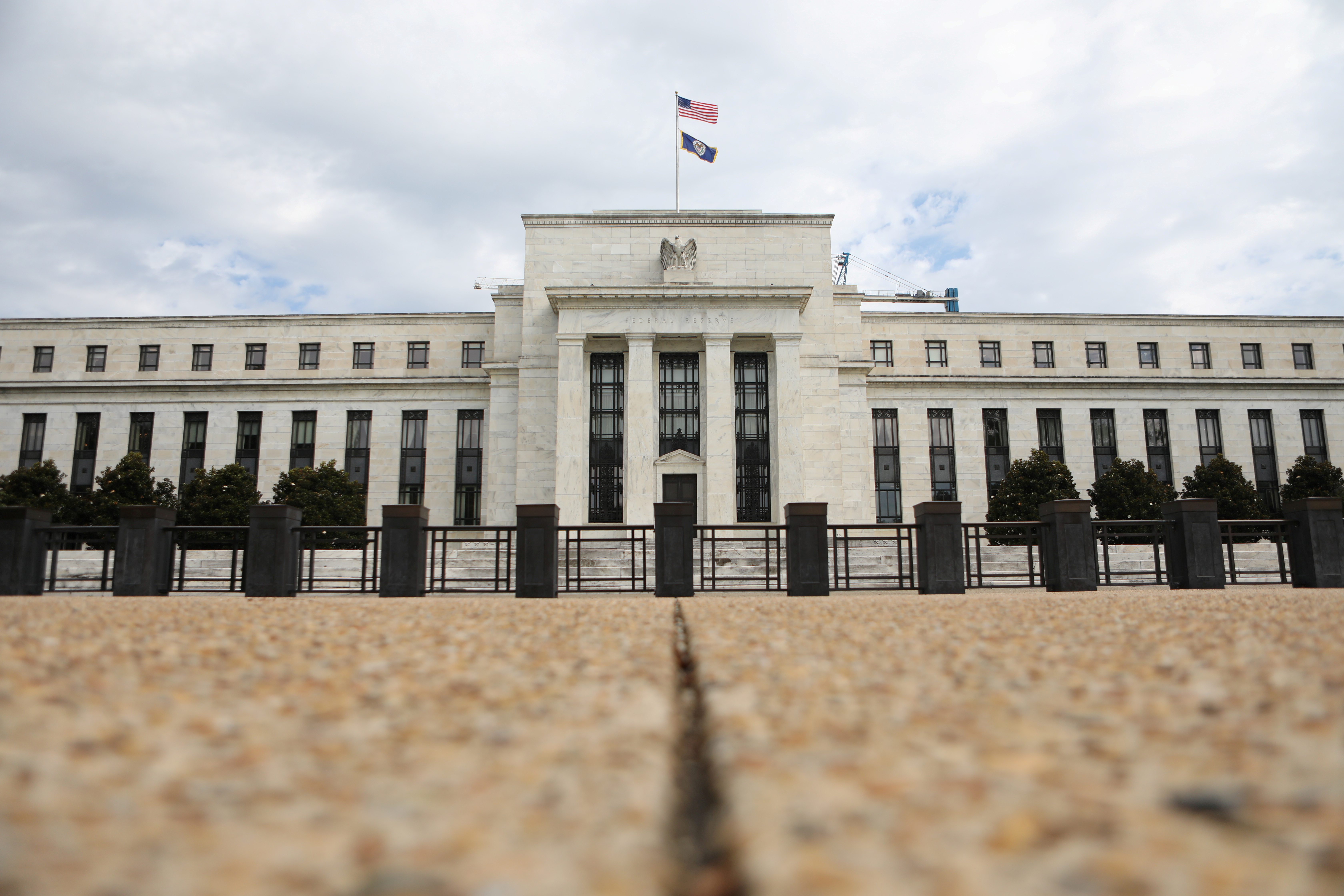 Fed policymakers see one U.S. rate hike, or none, as growth slows