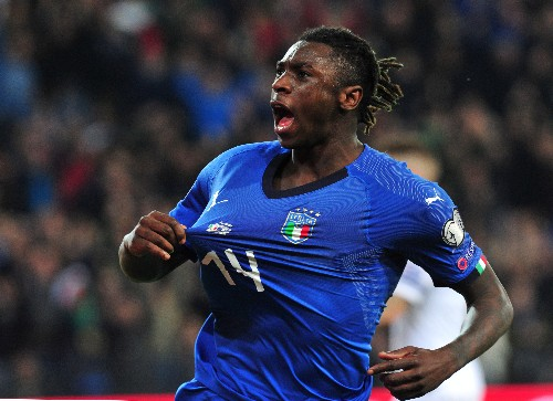 Soccer: Barella, Kean score first Italy goals in win over Finland