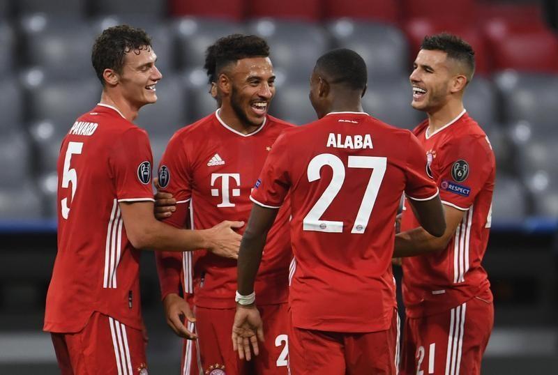 Coman dazzles in Bayern's 4-0 demolition of Atletico