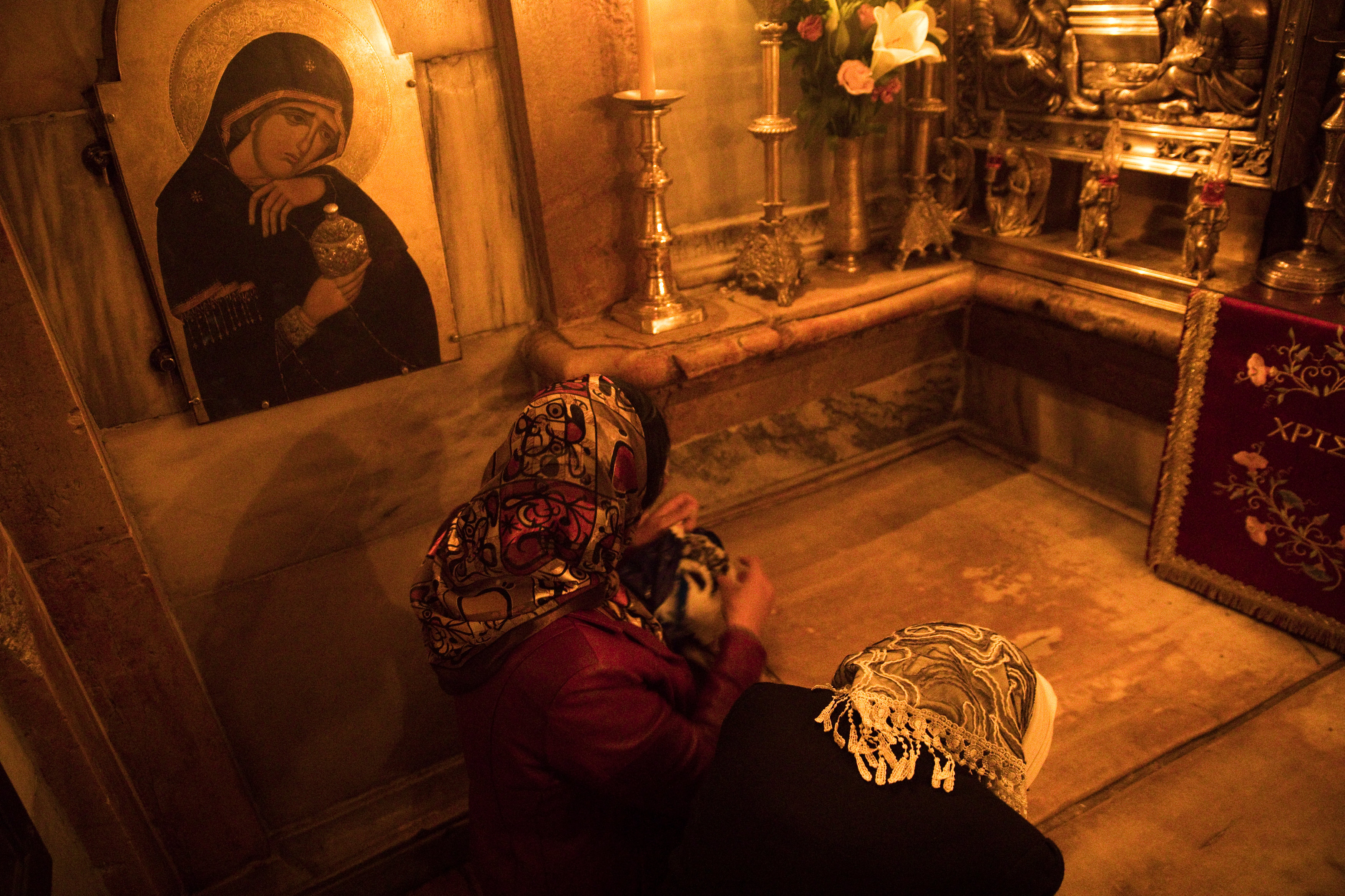Muslim holds ancient key to Jesus tomb site in Jerusalem