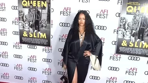 Rihanna steals the show at 'Queen & Slim' Los Angeles premiere | Reuters Video