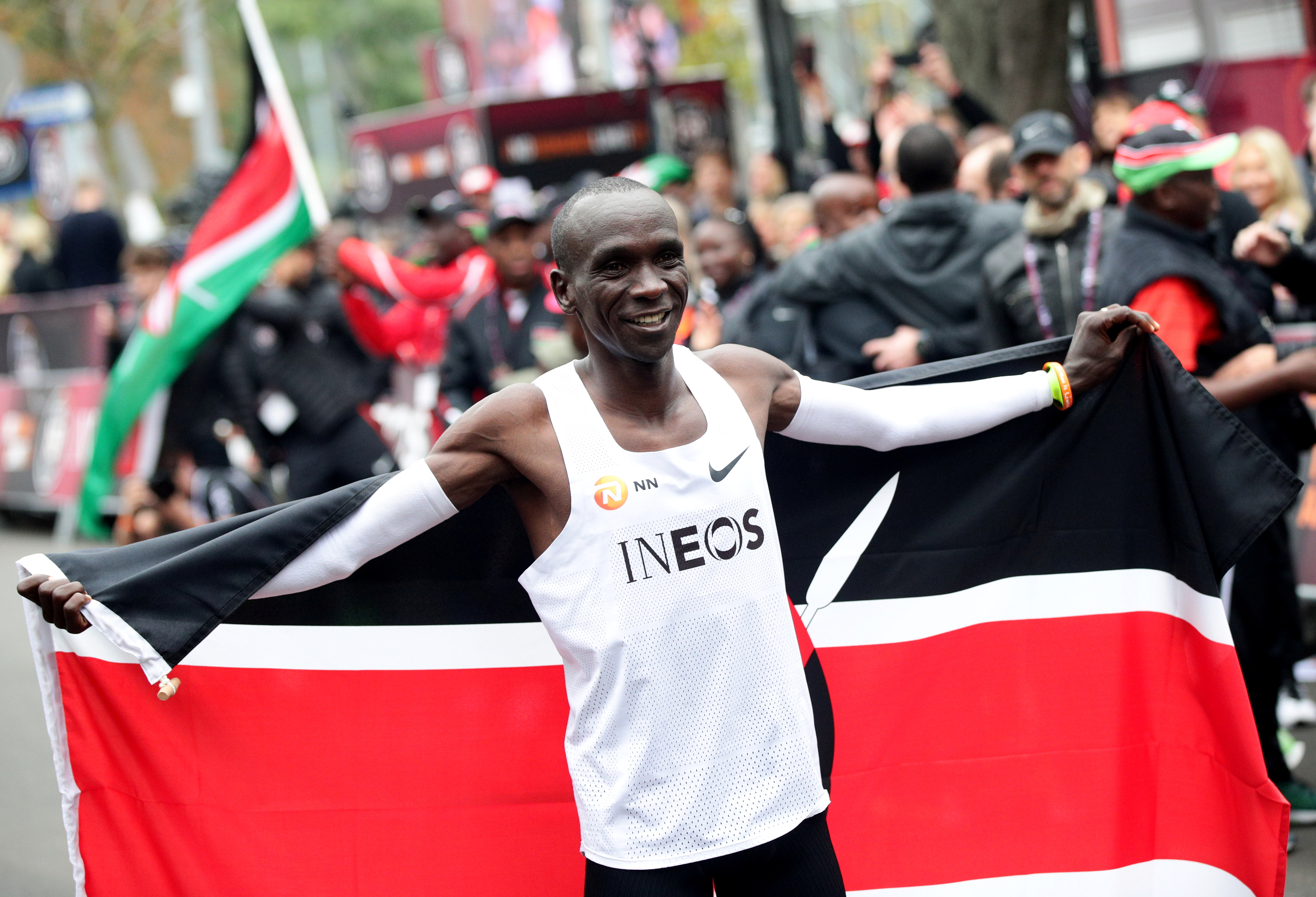 Kipchoge yet to make Tokyo 2020 plans, targets full recovery