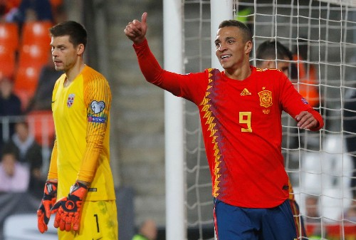 Soccer: Nerveless Ramos gives Spain winning start