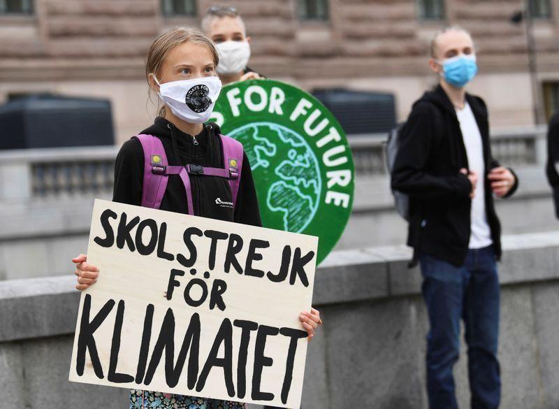 Climate strikers plan 'safe' return to protests, Greta Thunberg says