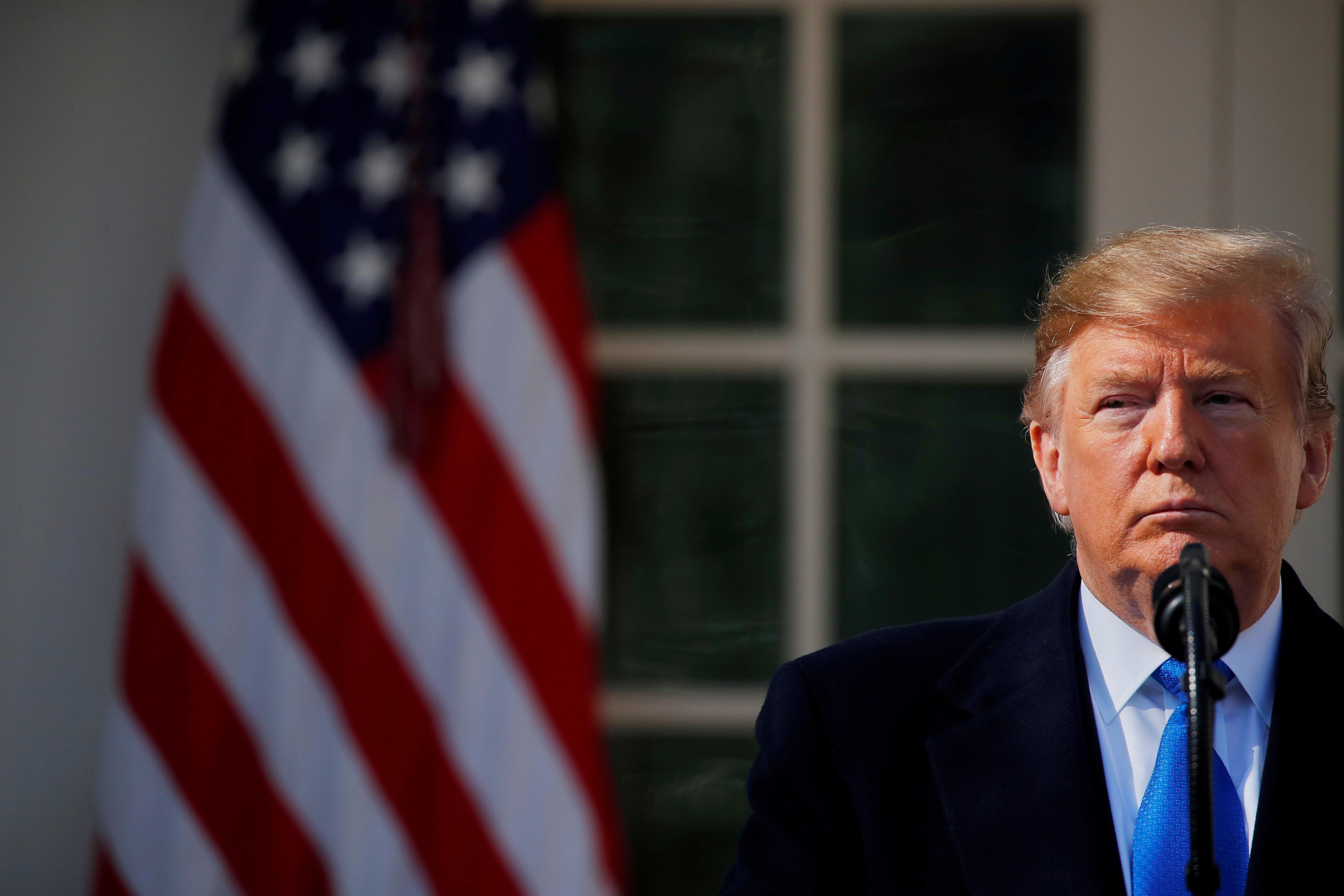 Mnuchin says 'analyzing the law' on Trump tax return request