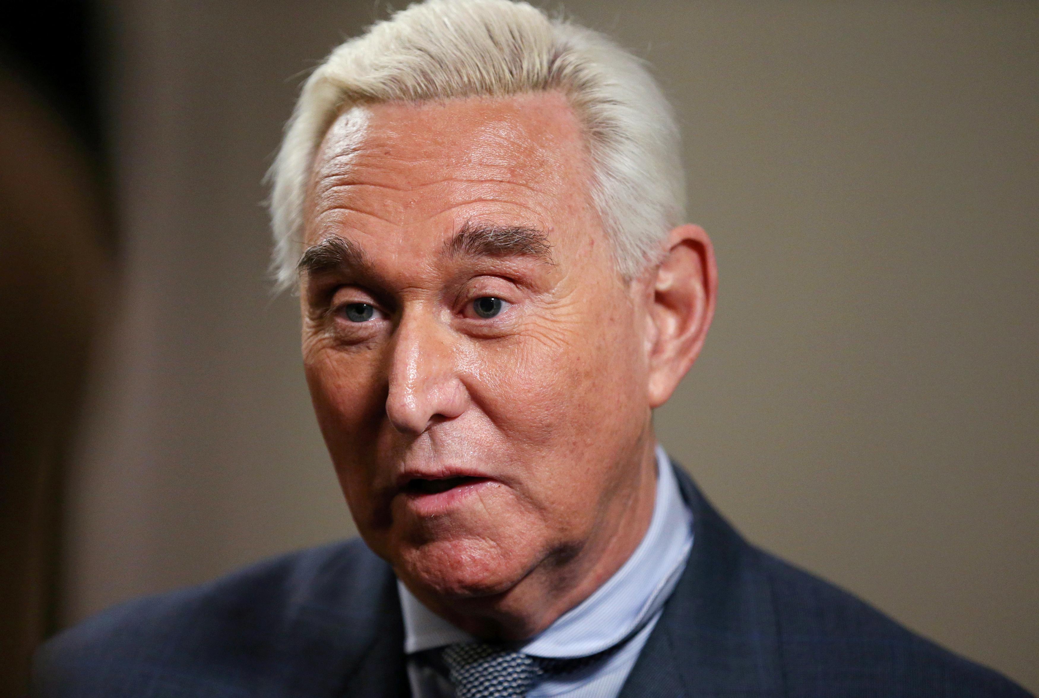 U.S. judge issues gag order in trial of former Trump adviser Stone