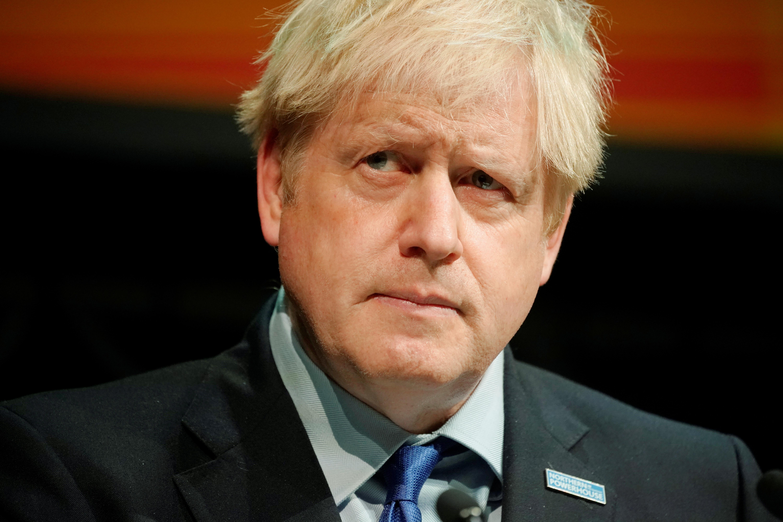 UK's Johnson, likening himself to Incredible Hulk, vows Oct. 31 Brexit