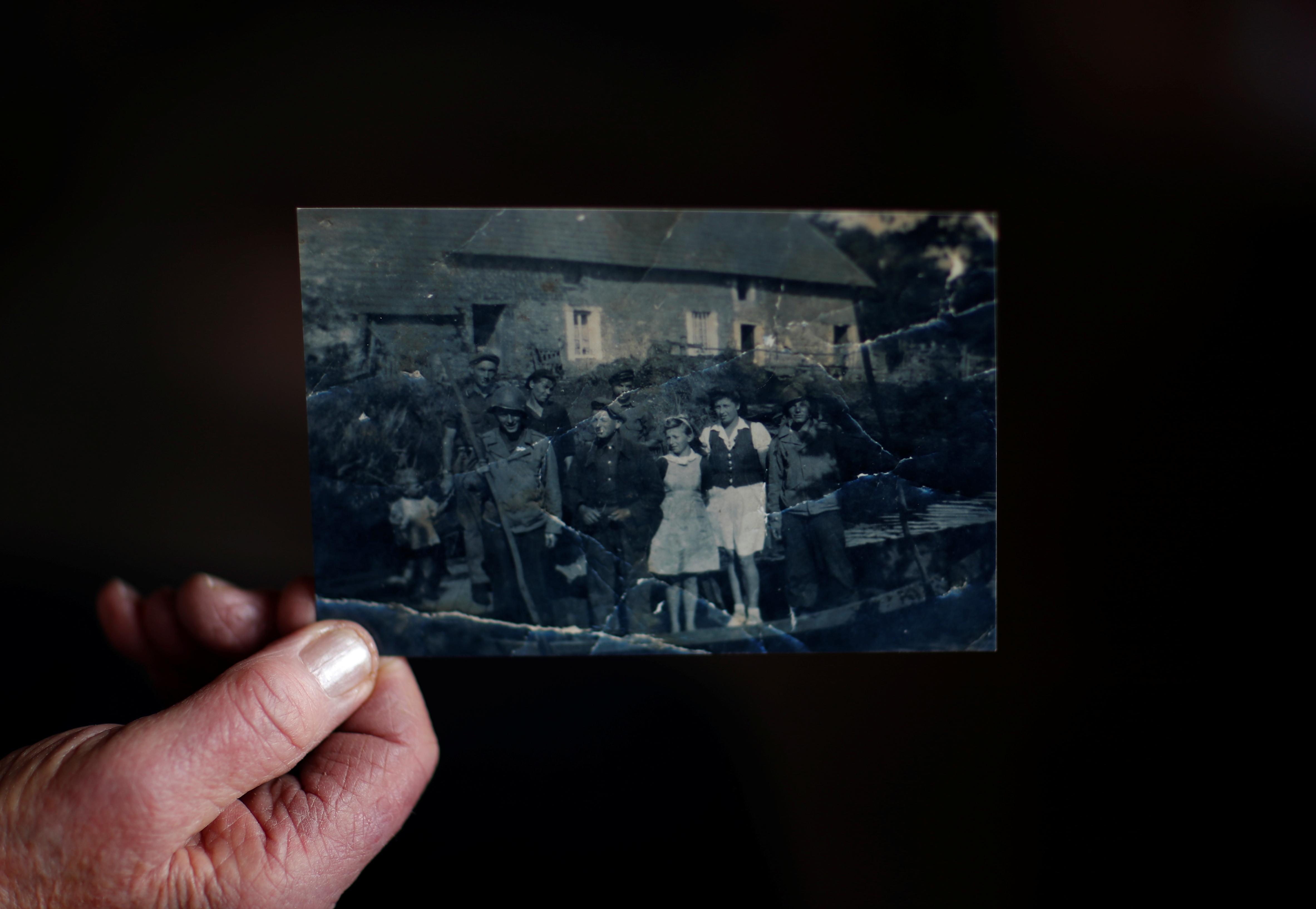 In western France, a village remembers D-Day's 'secret massacre'