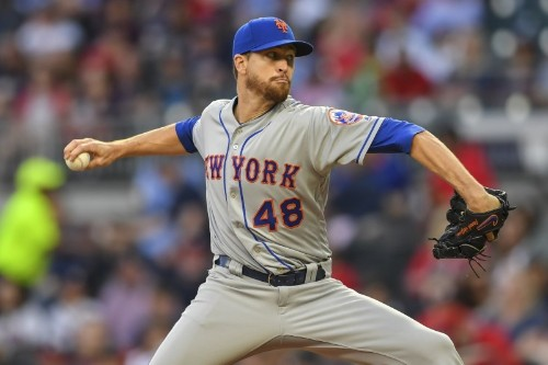Mets' deGrom receives clean MRI exam