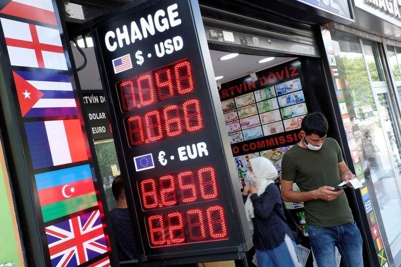 Turks pile into 'horse race' stock market as foreigners pull out