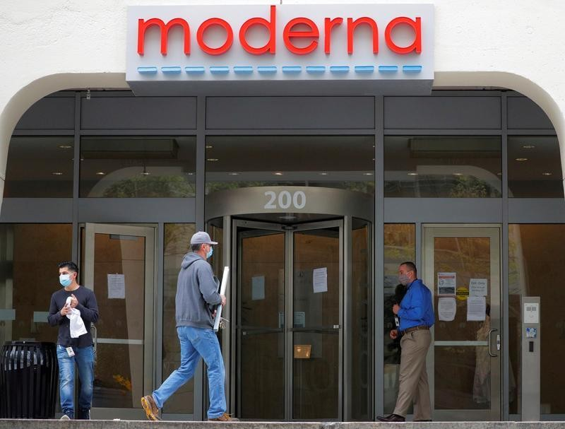 Moderna sees 20 million doses of COVID-19 vaccine candidate by year end