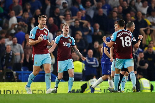 Soccer: Chelsea held 2-2 by Burnley, denting Champions League hopes