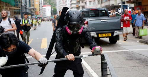 Inside the Hong Kong protesters' anarchic struggle against China