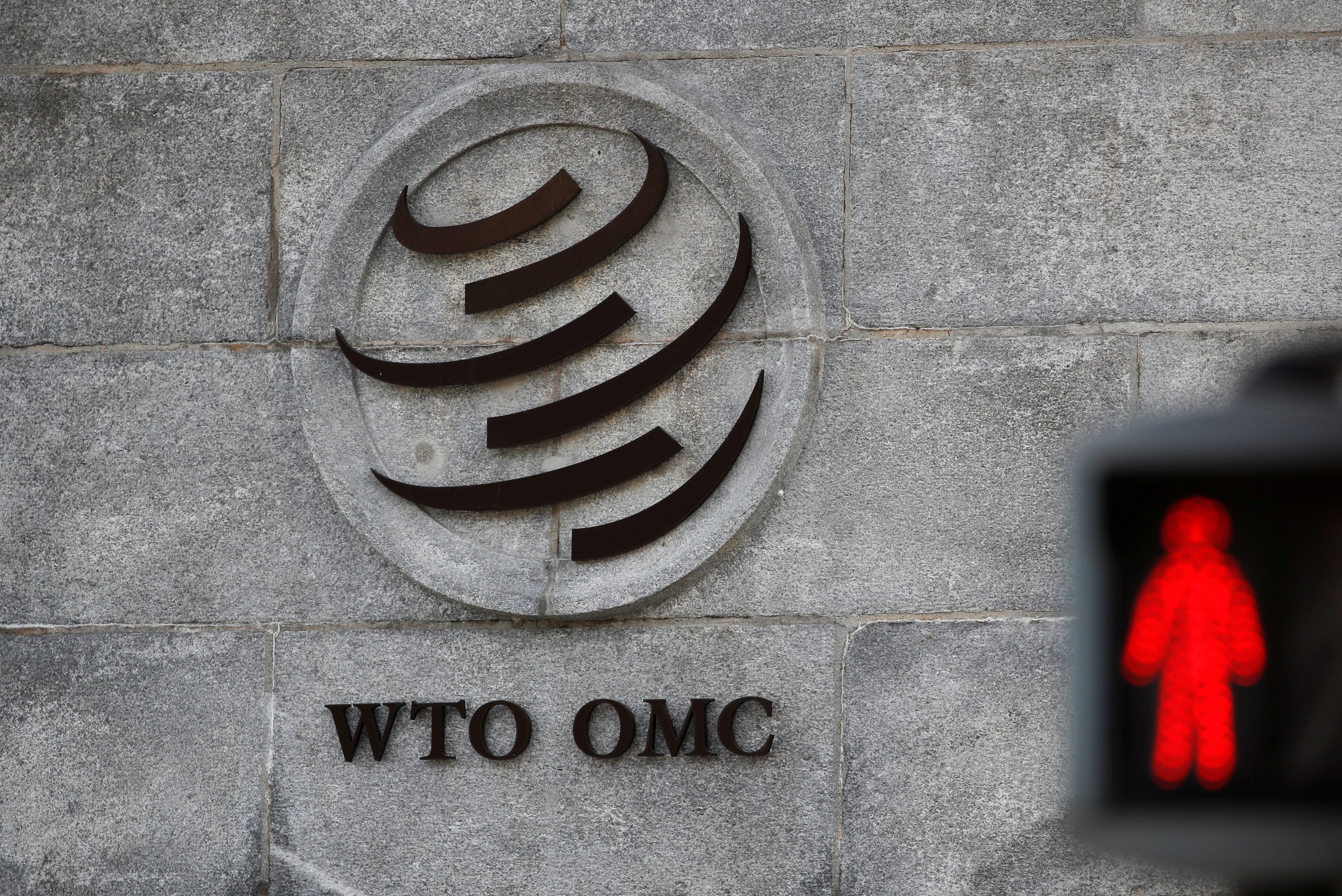 WTO chief sees no end in sight to U.S. blockage