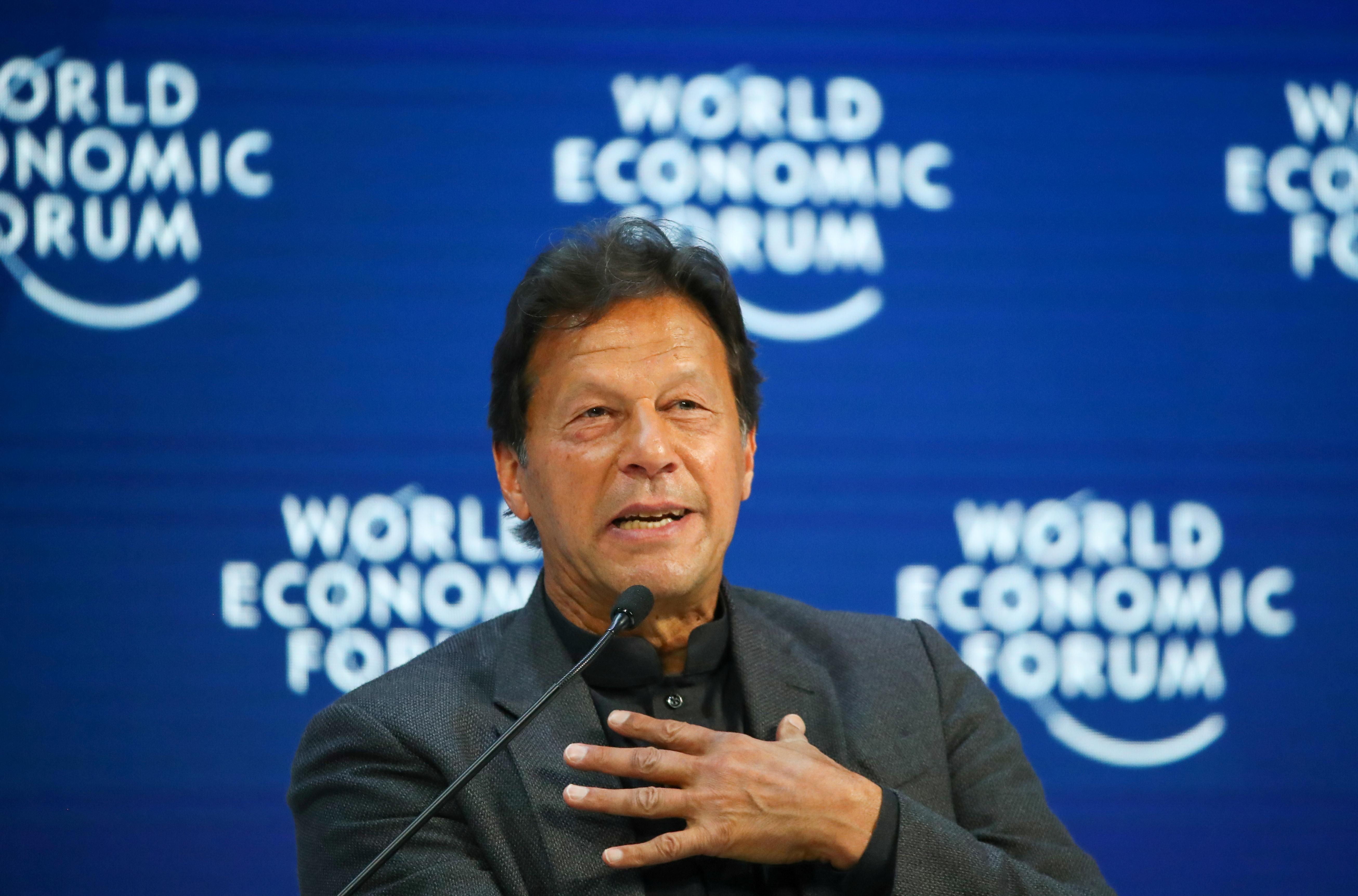 Pakistan's Imran Khan calls for U.N. action on India dispute