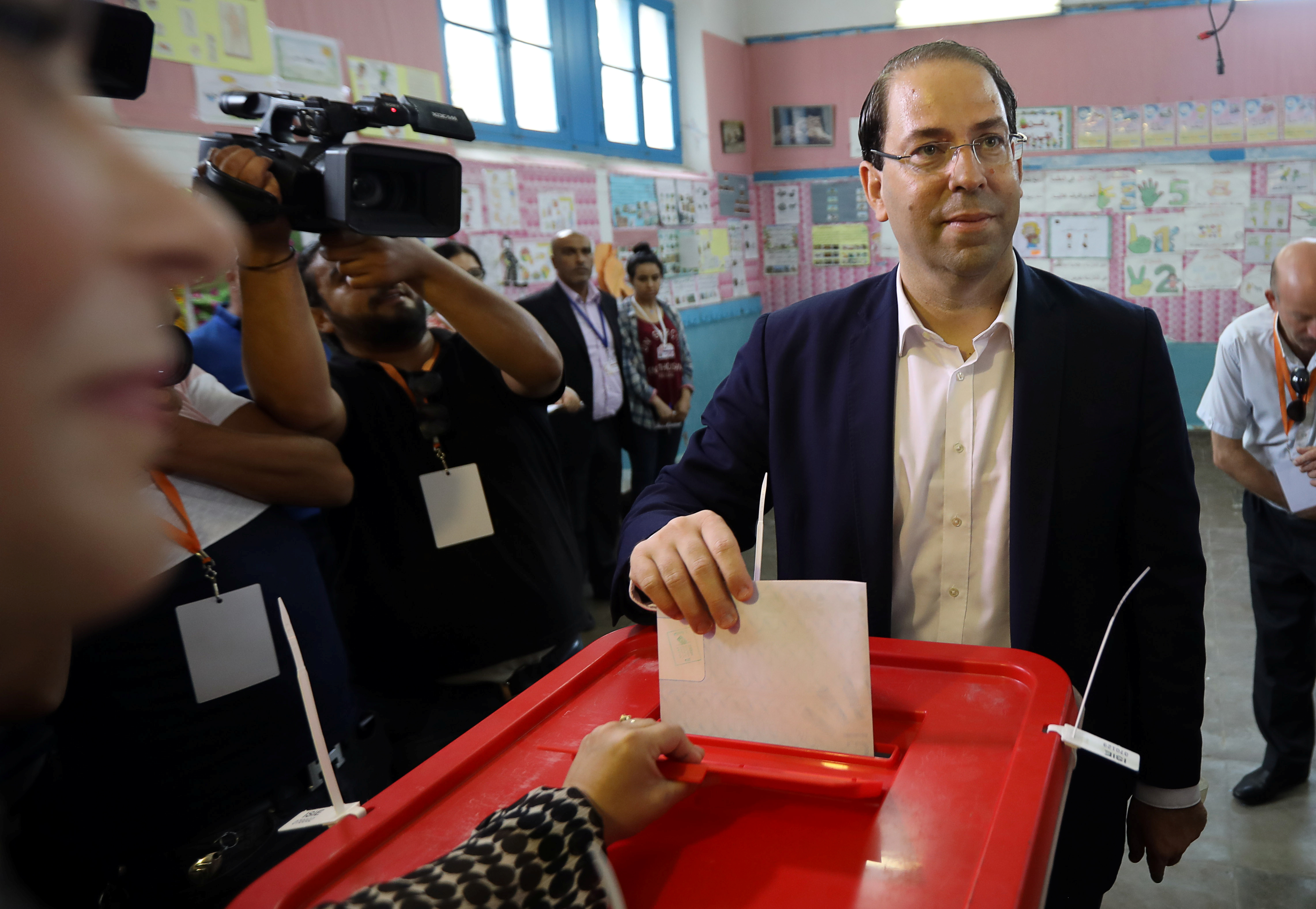 Tunisian electoral head urges youth to vote with turnout seeming low