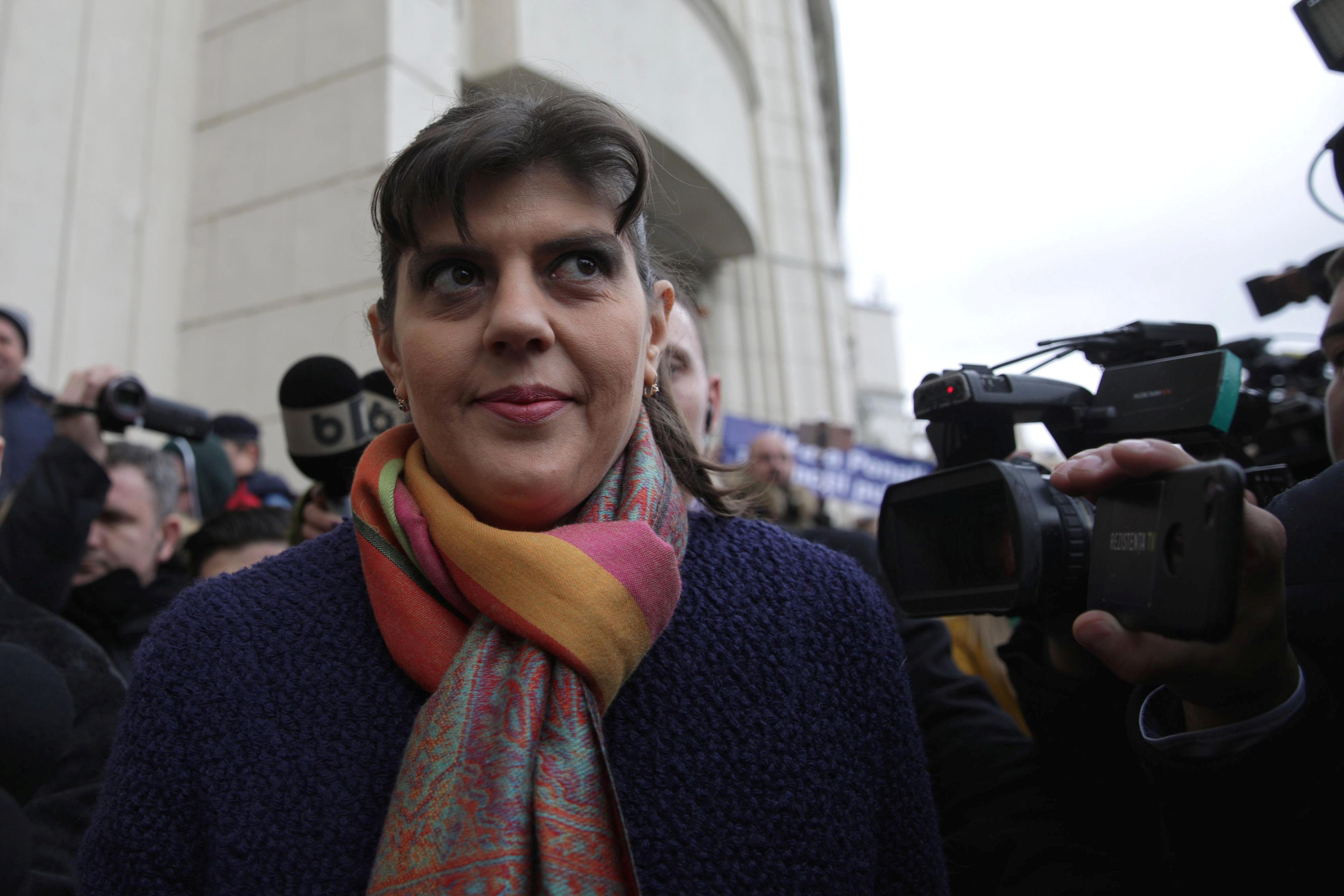 Romanian anti-graft crusader to become first EU fraud prosecutor