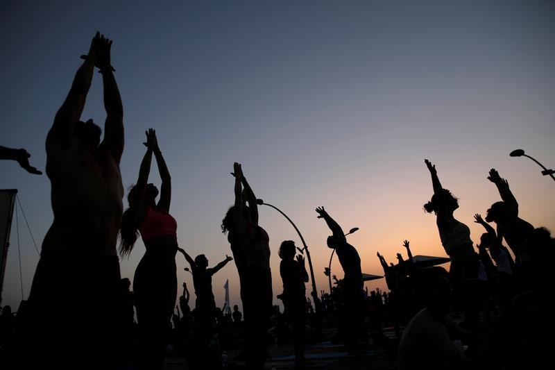 Workplace yoga can indeed lower employee stress