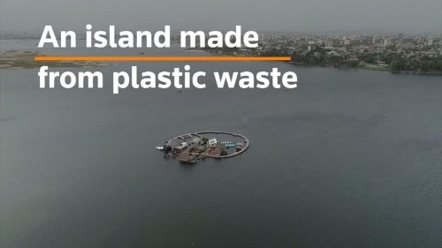 Entrepreneur builds island from plastic waste | Reuters Video