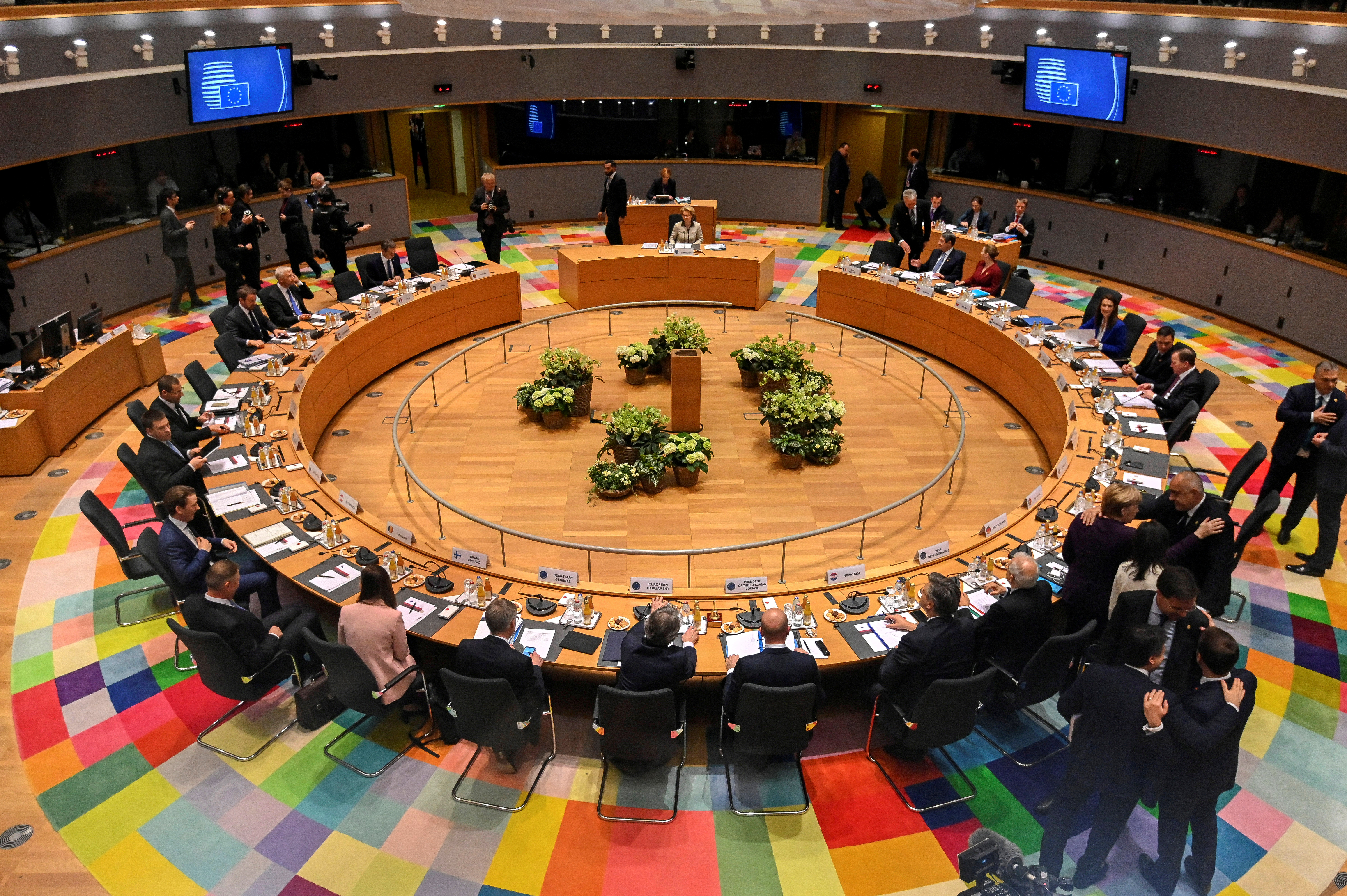 EU-Gipfel ringt um Lösung im Finanzstreit