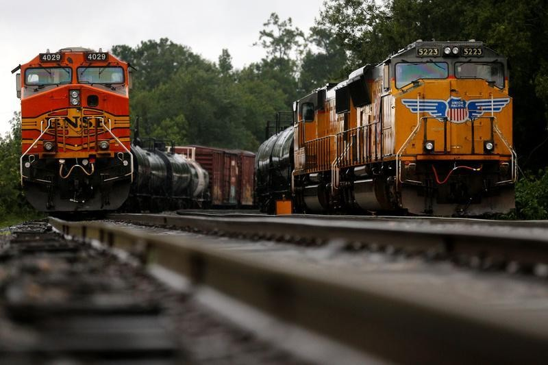 Harvey may cause long-term disruption on Houston's rail tracks