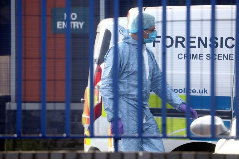 UK police officer shot dead at custody centre in south London
