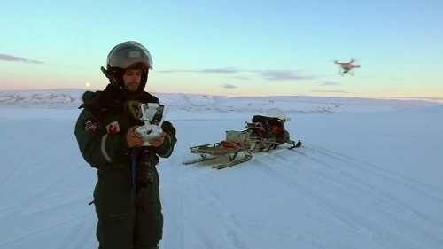Drone photography captures dramatic Arctic images | Reuters Video