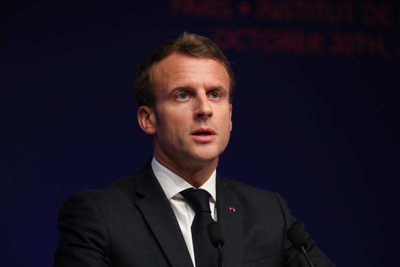 In China, Macron wants to take Beijing 'at its word' on free trade