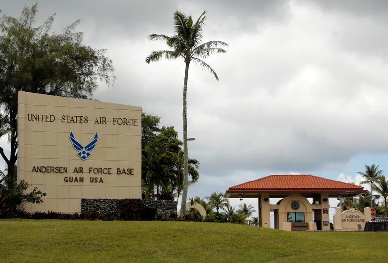China air force video appears to show simulated attack on U.S. base on Guam