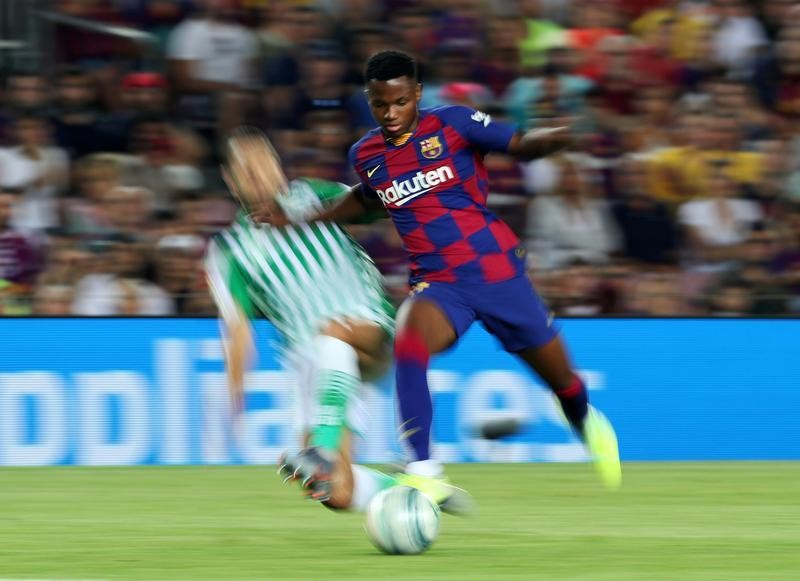 Who is Ansu Fati, Barcelona's latest talented youngster?
