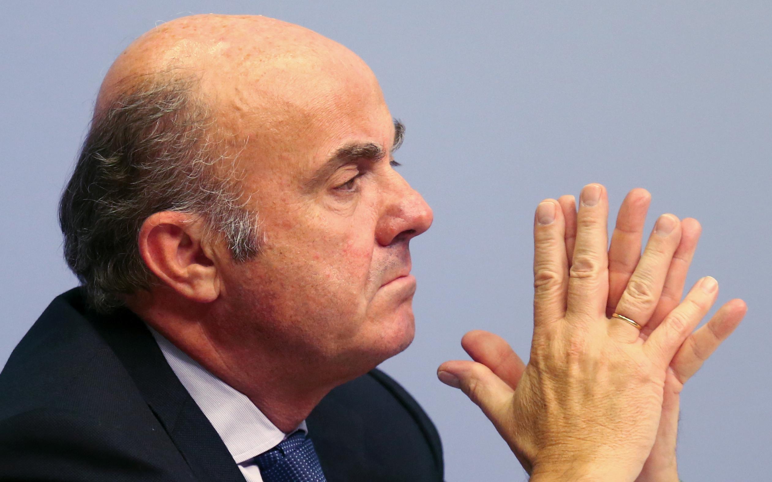 EZB-Vize - Schwache Börsenkurse behindern Bankenfusionen