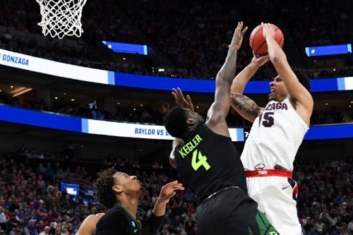 Clarke leads No. 1 seed Gonzaga over Baylor