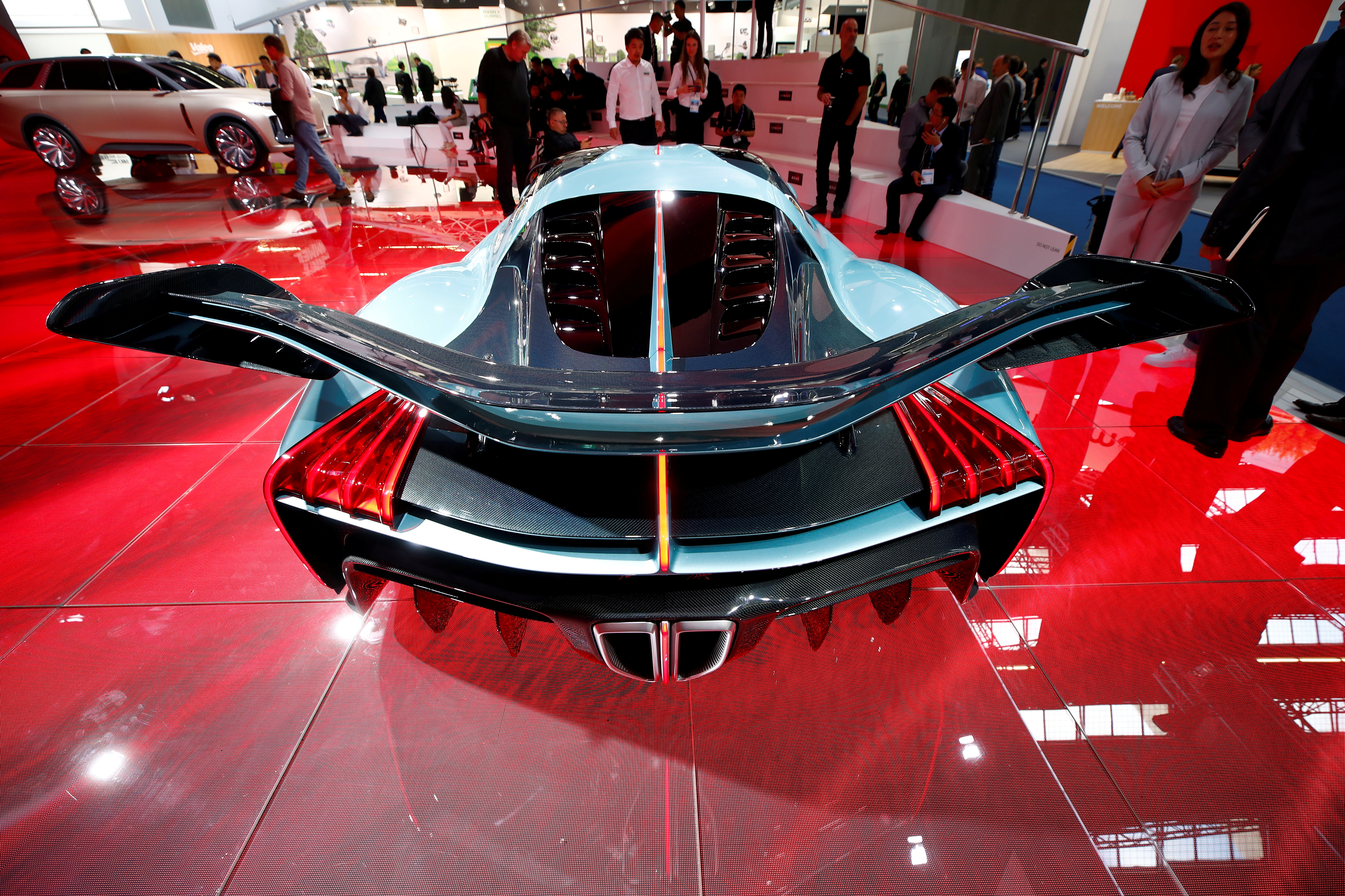 China out in force at Frankfurt car show, led by battery builders
