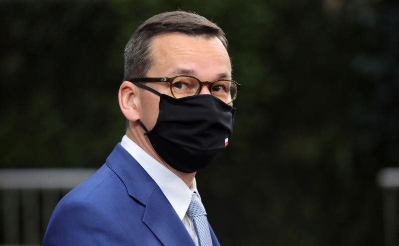 """Polish PM warns of """"massive"""" COVID risk from abortion rights protests"""