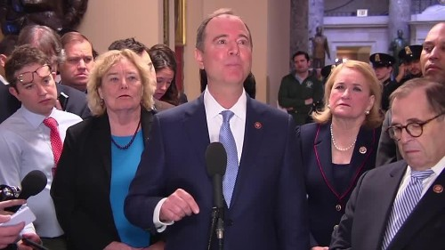 Schiff on Senate rules: 'This is the process for a rigged trial' | Reuters Video