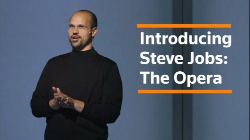 Why wouldn't you write a Steve Jobs opera?   Reuters Video