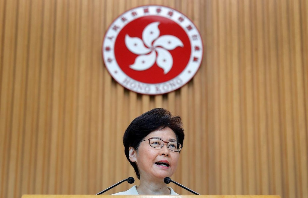 Special Report: Hong Kong leader says she would 'quit' if she...