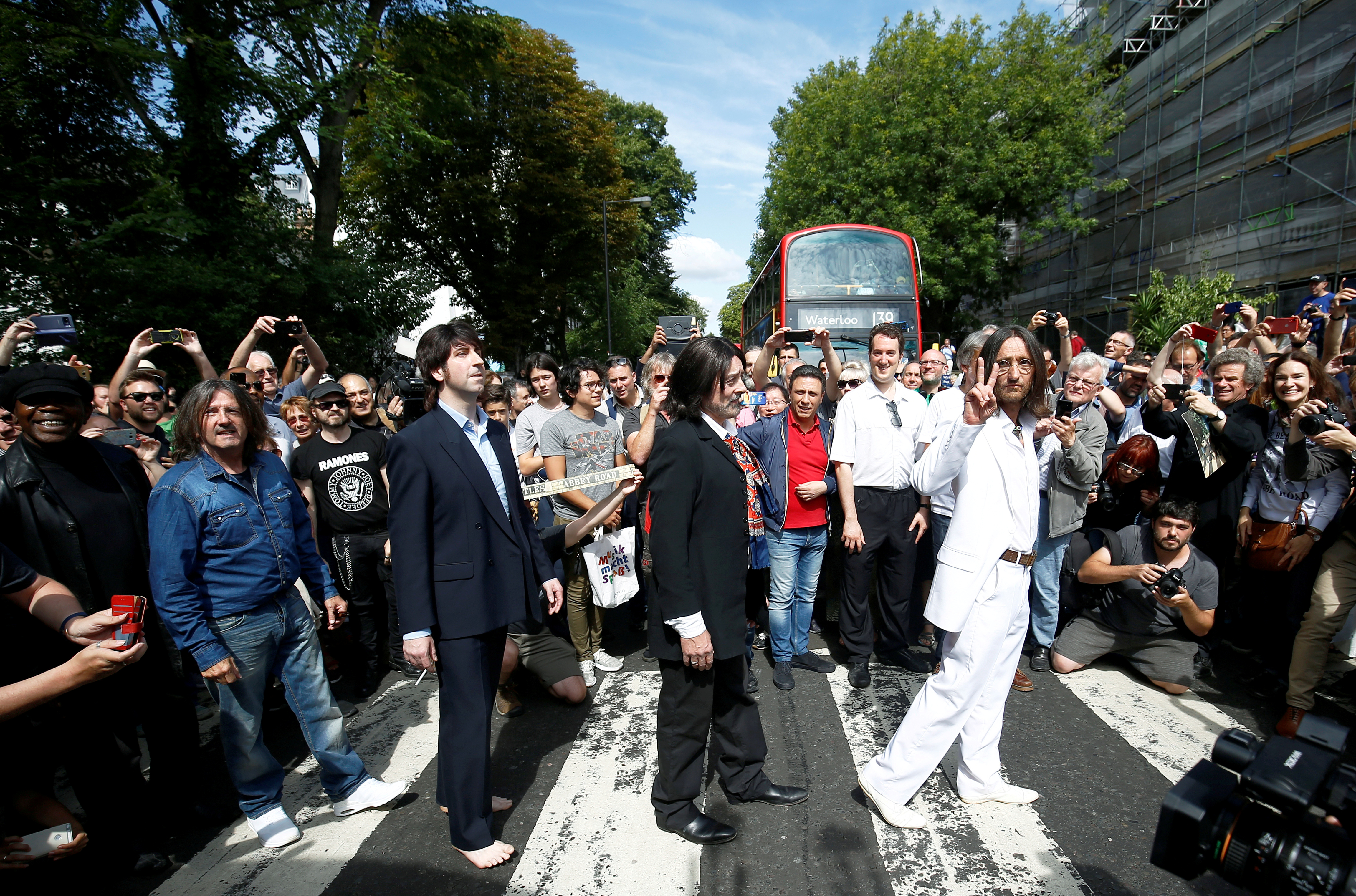 Beatles' 'Abbey Road' back at top of charts 50 years after release
